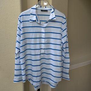APT 9 Half Button Down Shirt